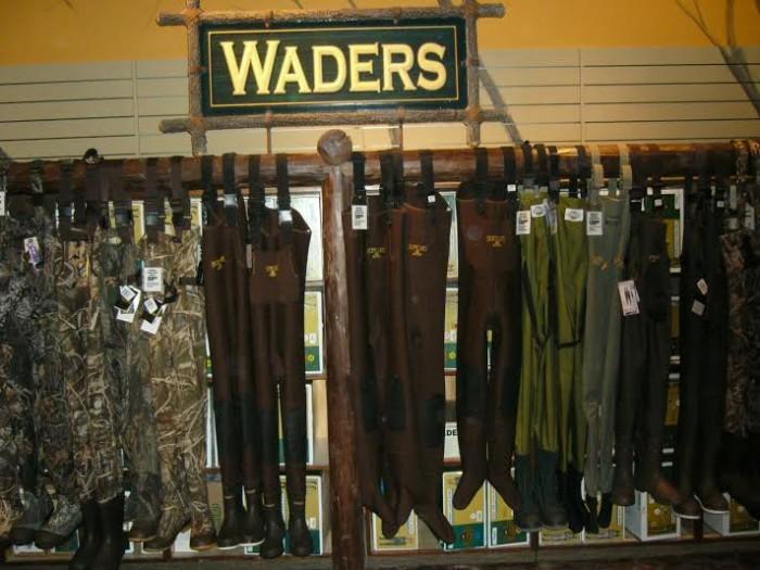 waders