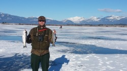 Ice Fishing Thanksgiving day