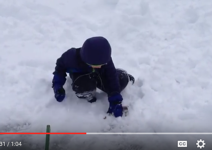 Snip Kaden ice fishing vid