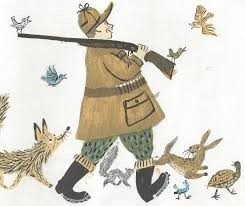 huntingillustration