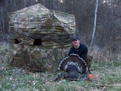 Heath with Turkey Photo by Toby Walrath