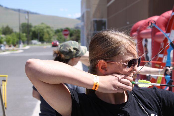Archery kids USSA