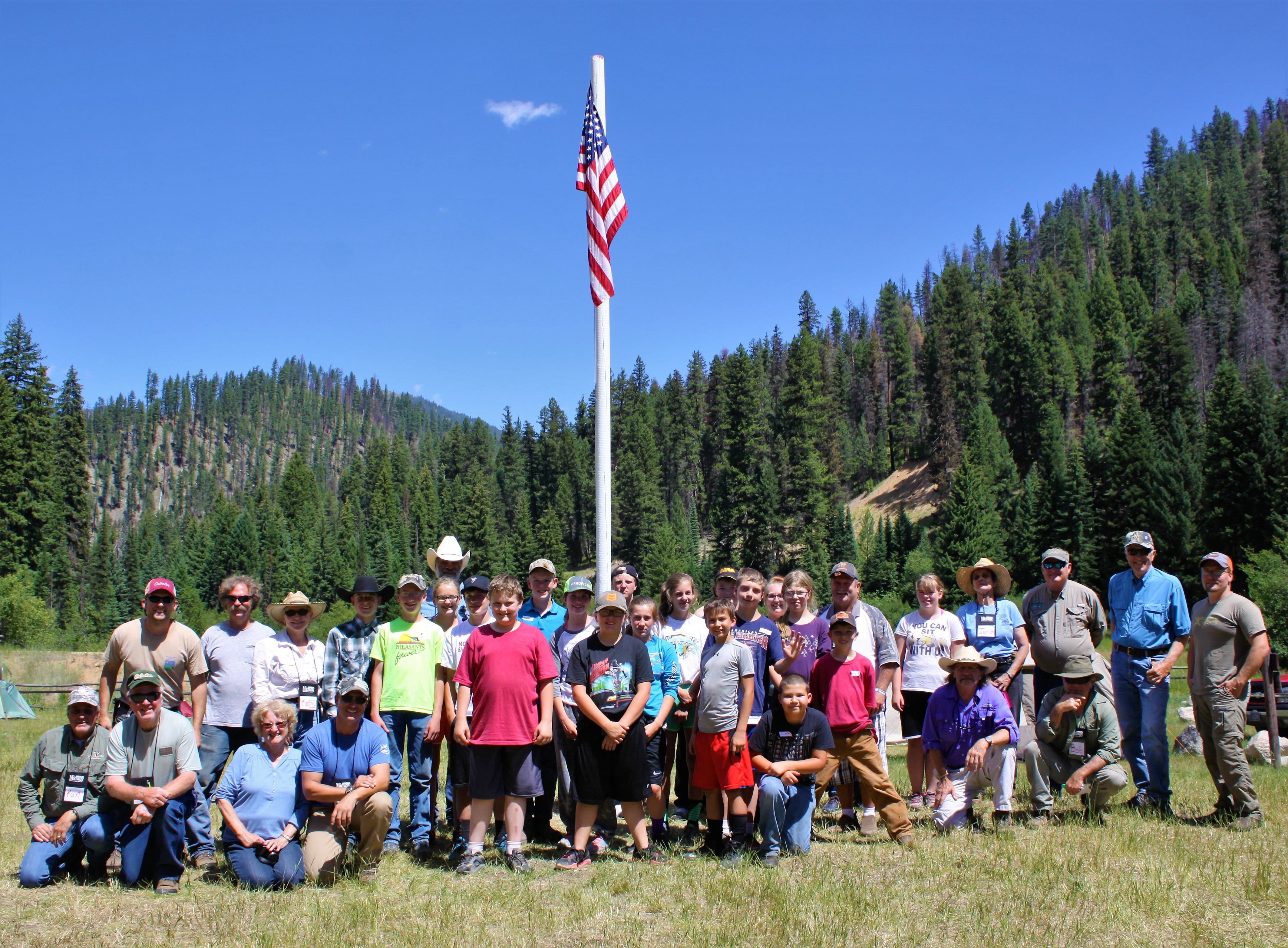 Pilot summer camp teaches trapping bowhunting fly for Fishing summer camp