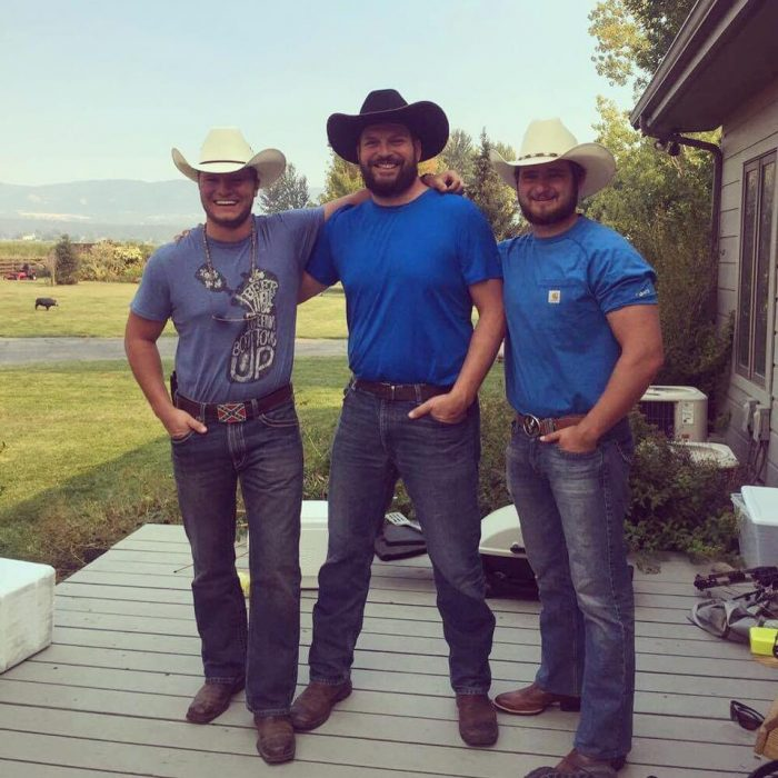 Three Dude Cowboys