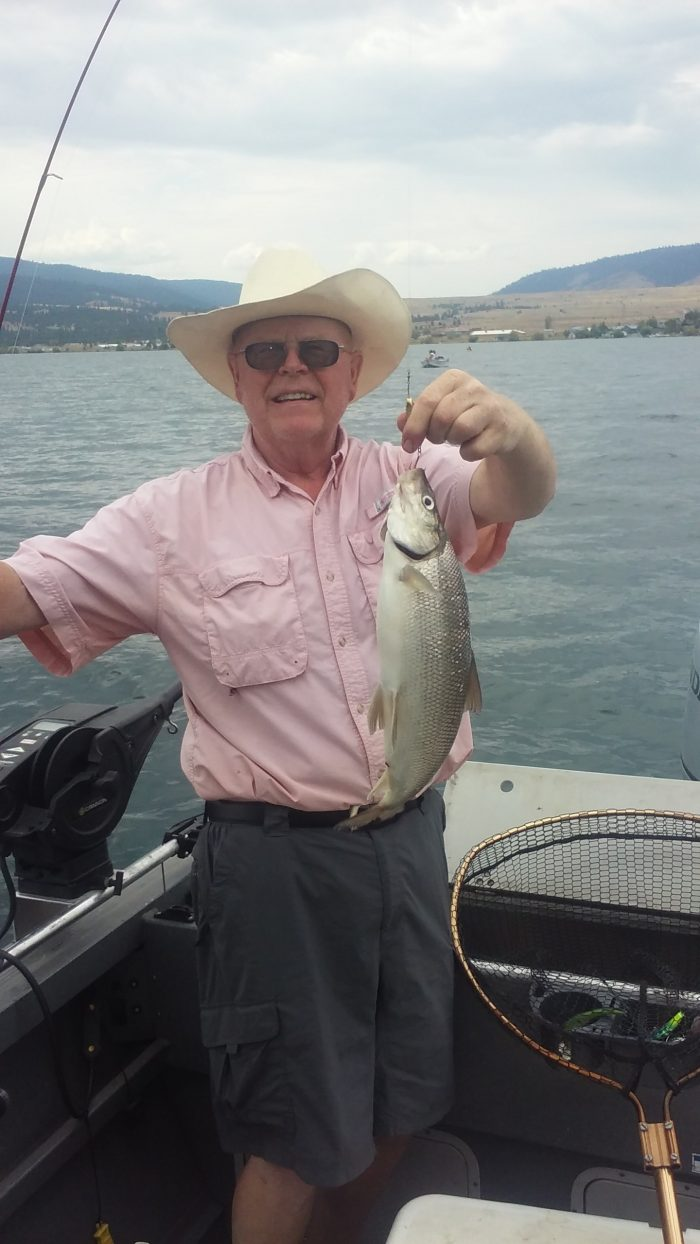 Whitefish bite continued for montana anglers montana for Whitefish montana fishing