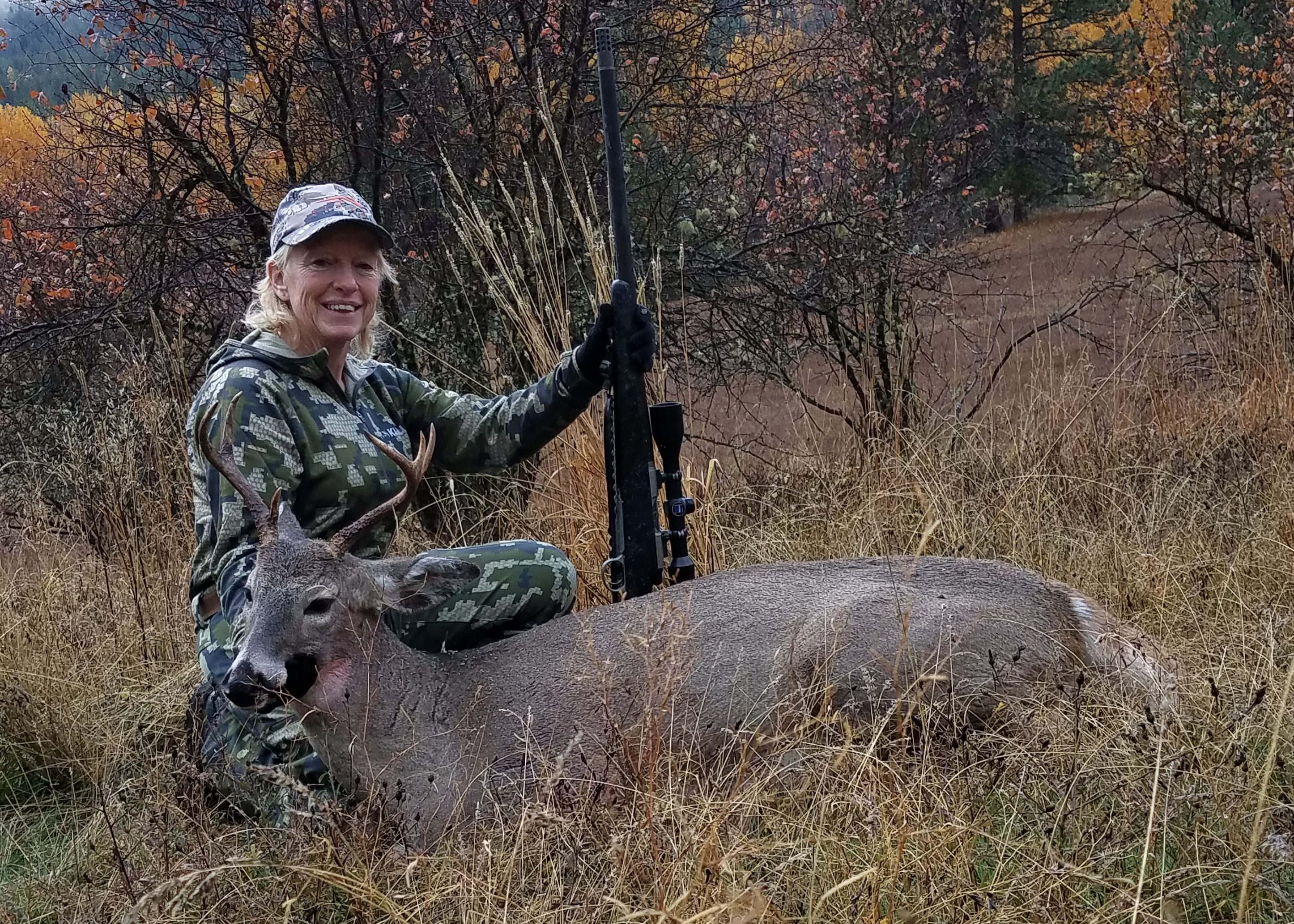 Mors show correspondent bags buck montana hunting and for Hunting and fishing show