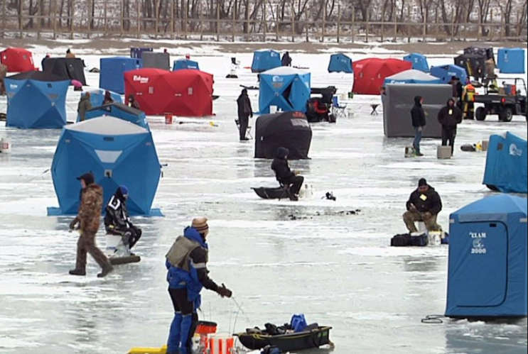 January ice fishing tournament on hebgen lake holds for Hebgen lake fishing report