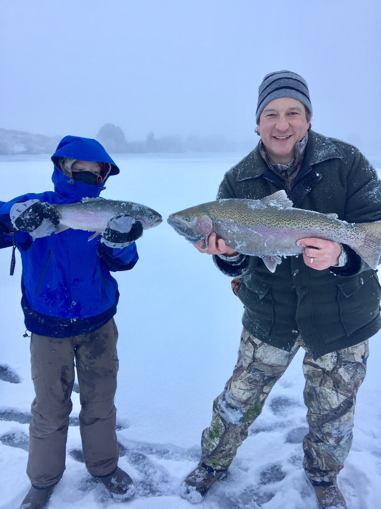 Browns lake ice fishing report montana hunting for 13 ice fishing