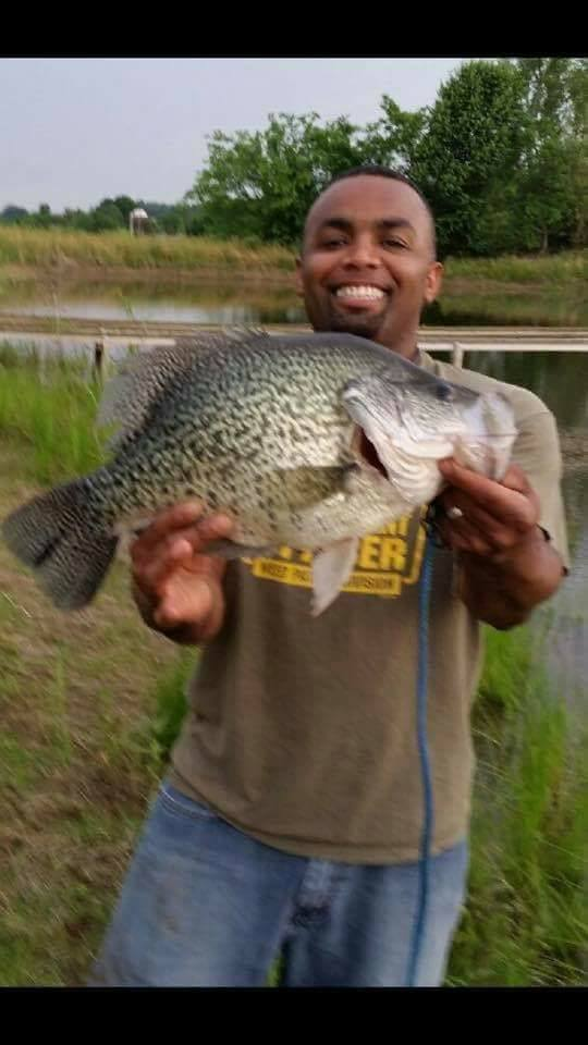 Pending world record crappie from tennessee montana for Crappie fishing in tennessee