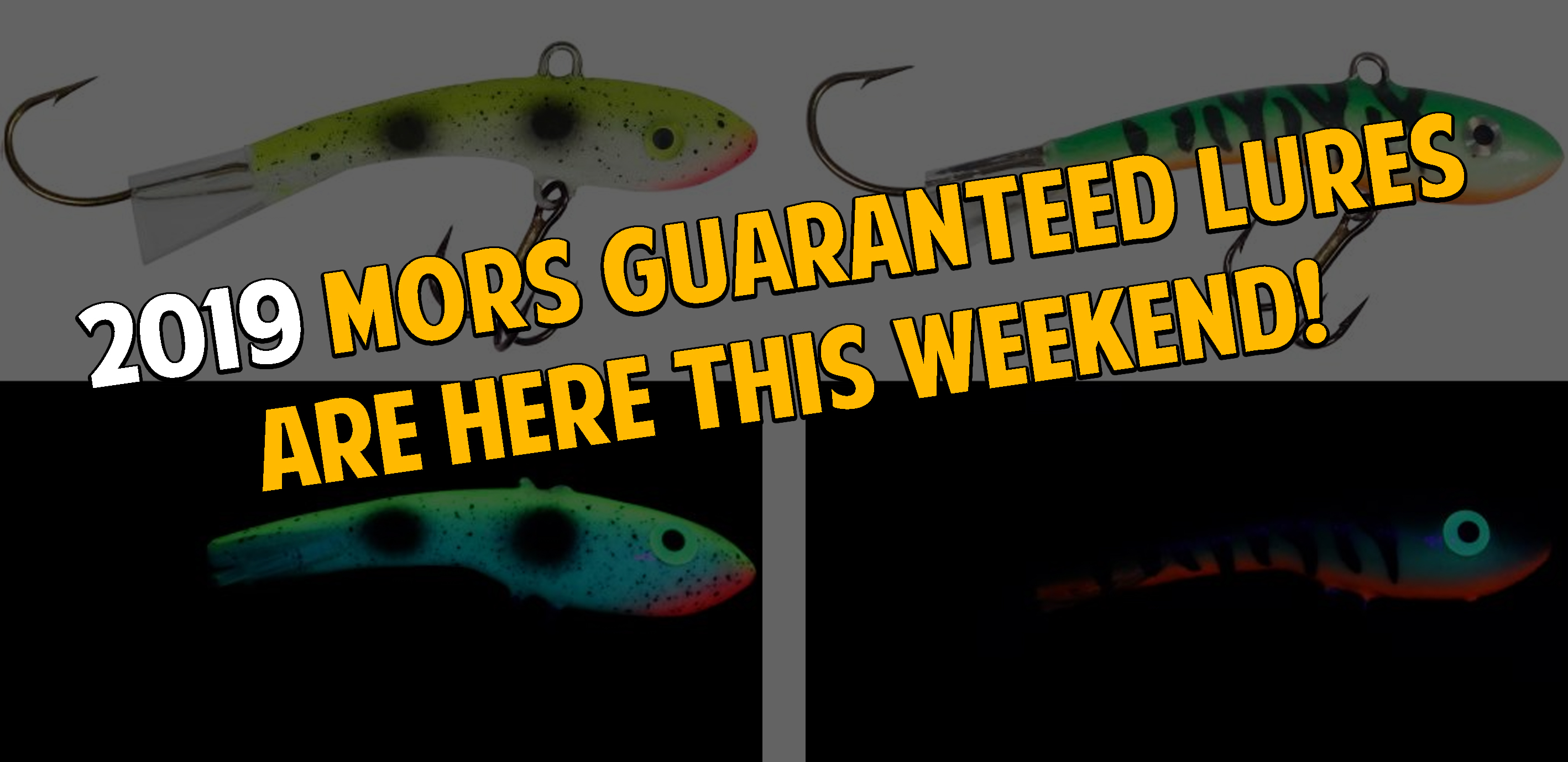 Catch fish with the 2019 MORS Guarantee Lures this weekend ...