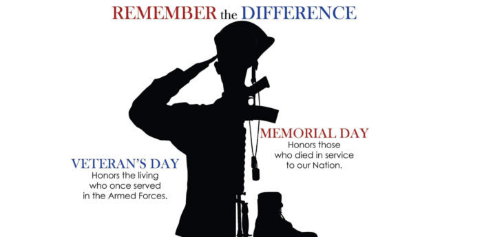 5ab07816ad The Difference between Memorial Day & Veterans Day | Montana Hunting ...