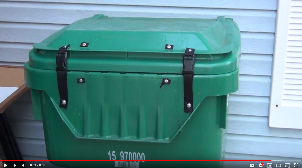 Stop The Bears Diy Bear Resistant Trash Can Ideas Montana Hunting And Fishing Information
